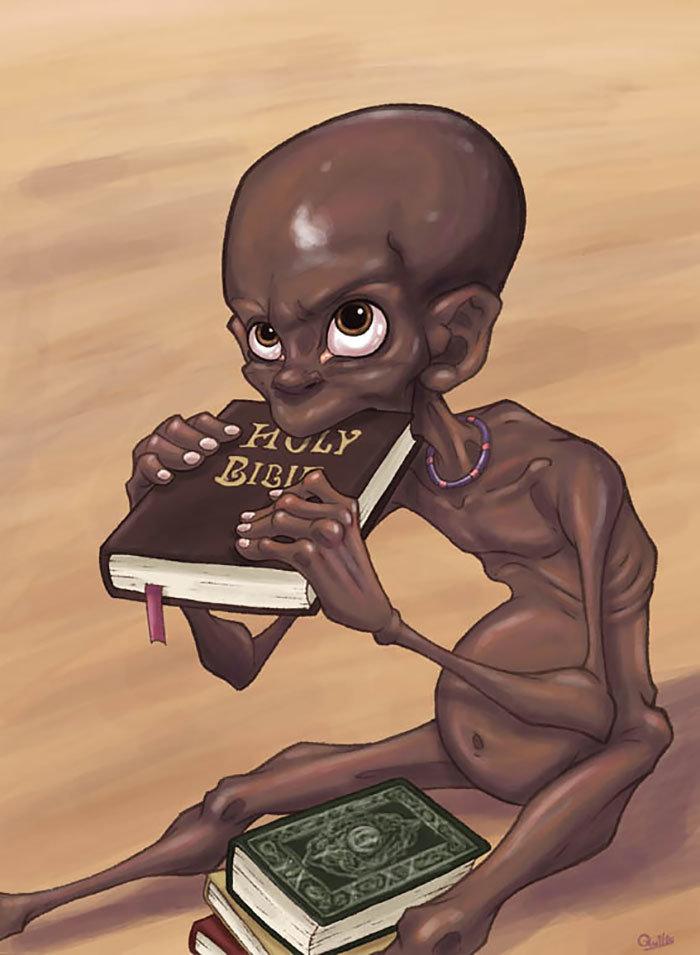 Çocuk Asker Çizimi | Açlık ve Misyonerlik