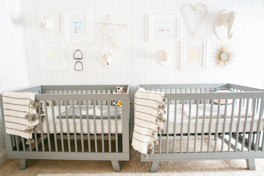 İkiz Bebek Odası | A bright and neutral toned nursery 1 1