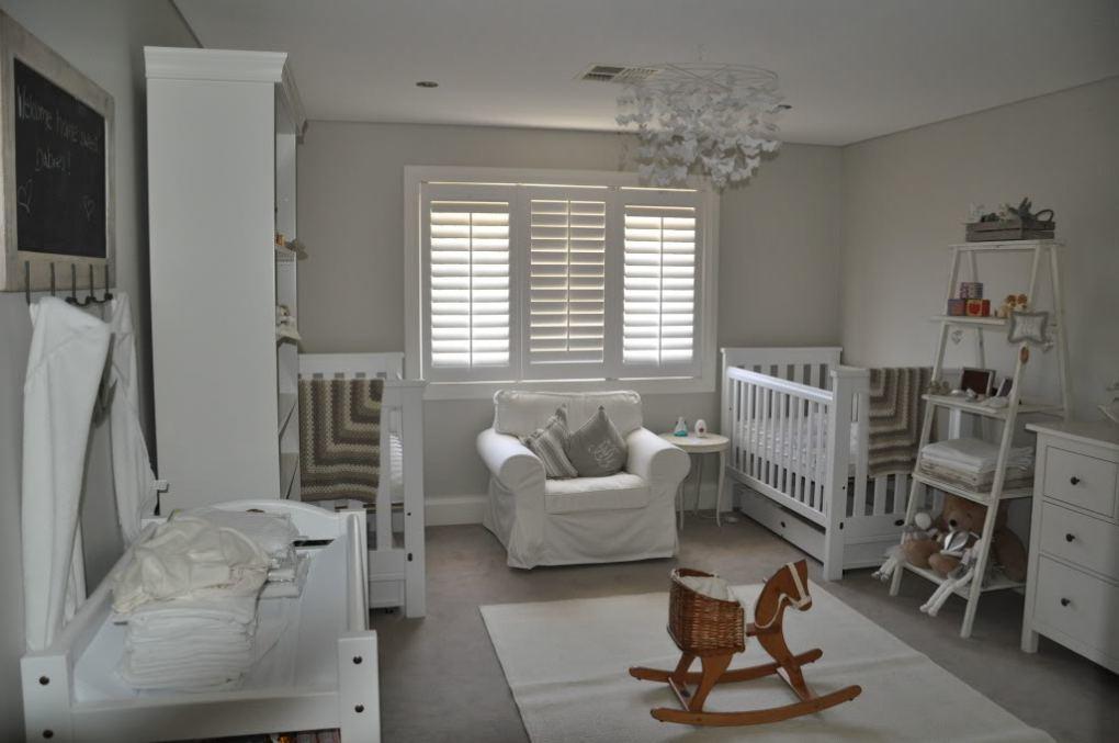 İkiz Bebek Odası | A darker peaceful nursery 1