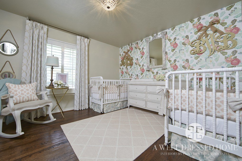 İkiz Bebek Odası | A perfect vintage styled twin nursery 1
