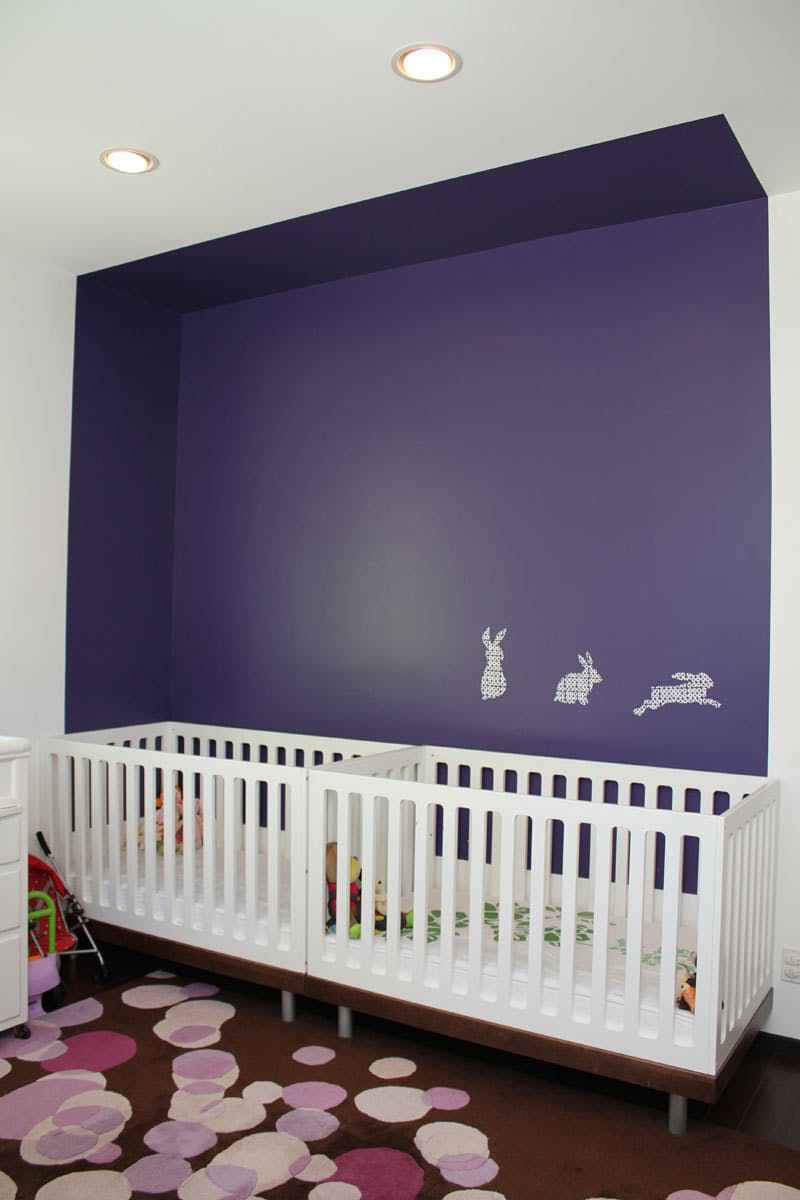 İkiz Bebek Odası | A simple and minimal twin nursery 1 1