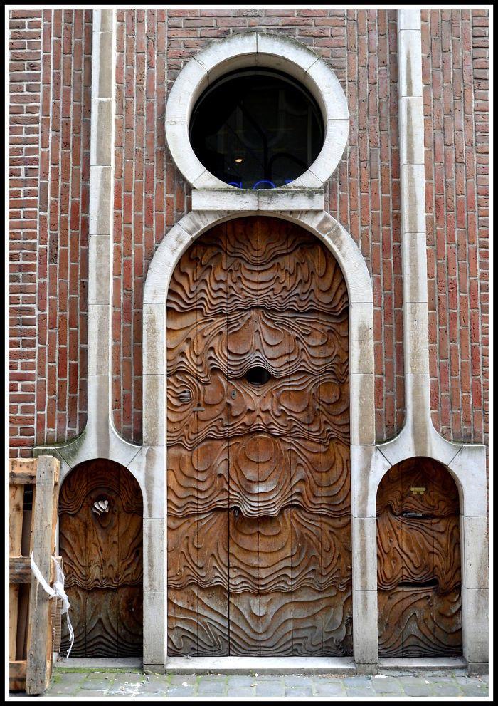 Harika Kapı Fotoğrafları | Belçikadan İlginç Bir Kapı Daha