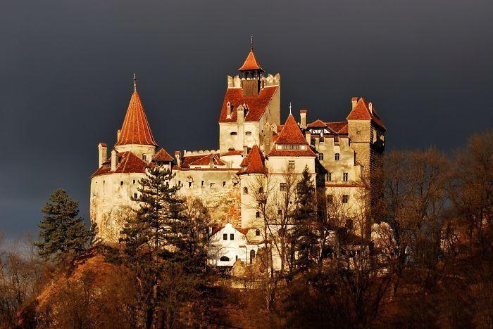 Dünyanın En Güzel Kaleleri | Bran Kalesi