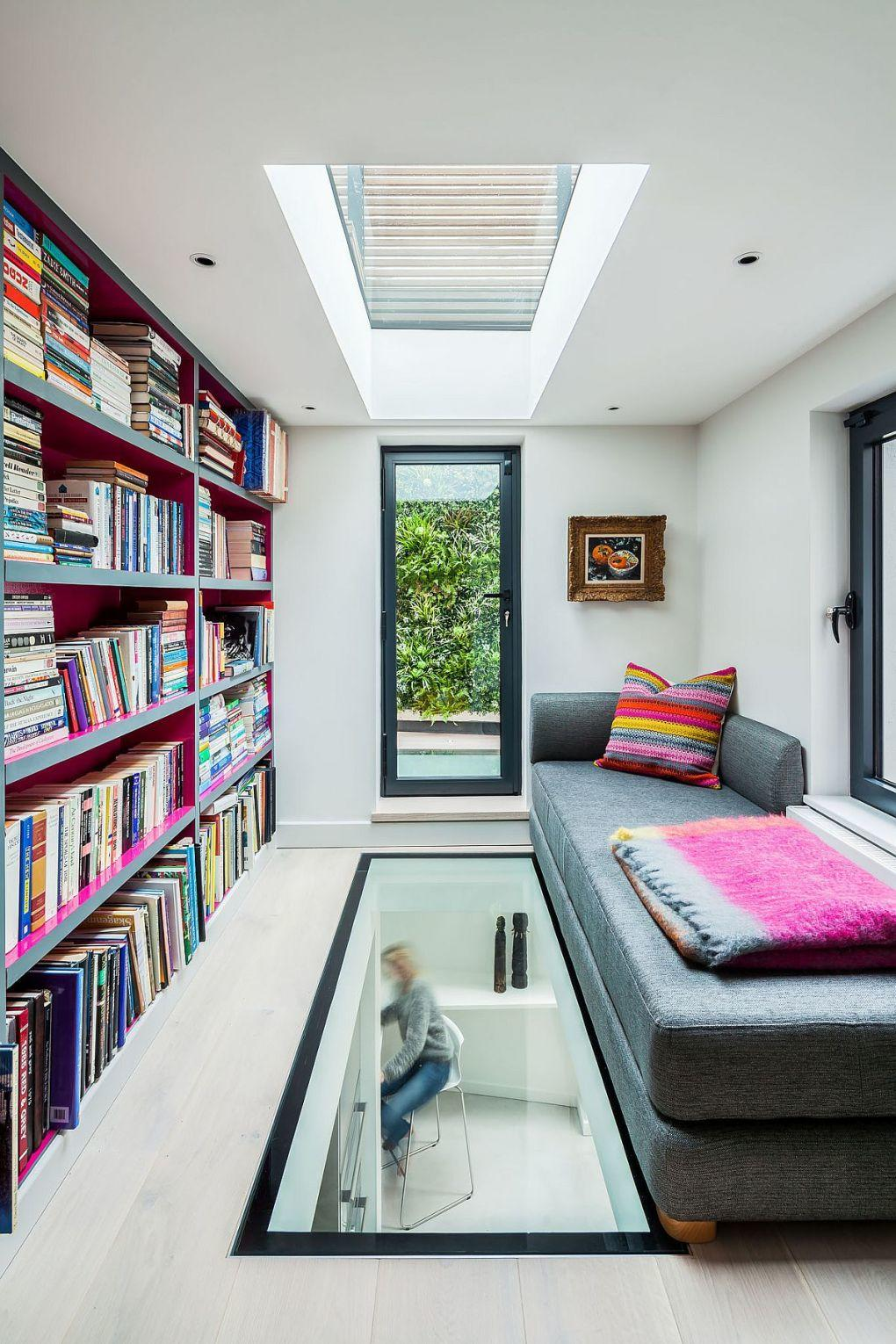 Eski Ev Yenileme Fikirleri | Glass flooring and skylight bring in ample natural light 1