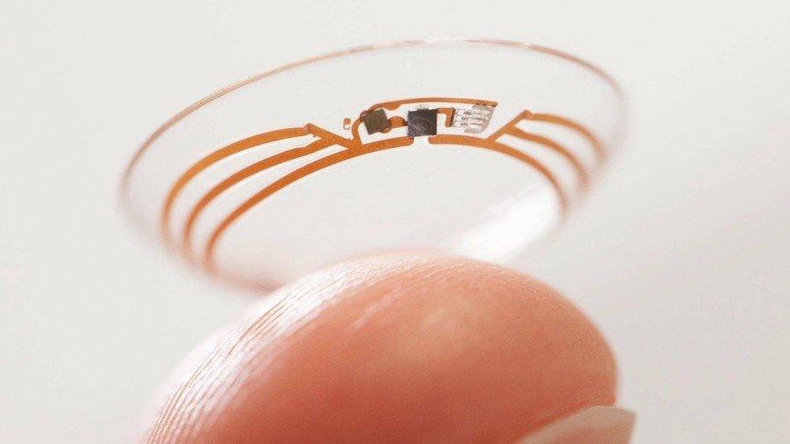 Akıllı Kontakt Google Lens | Google Kontakt Lens