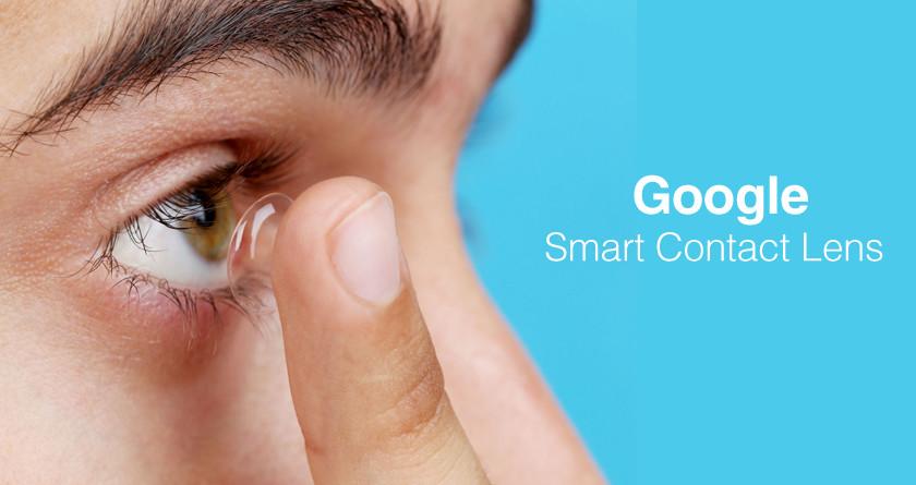 Akıllı Kontakt Google Lens   Google Smart Contact Lens