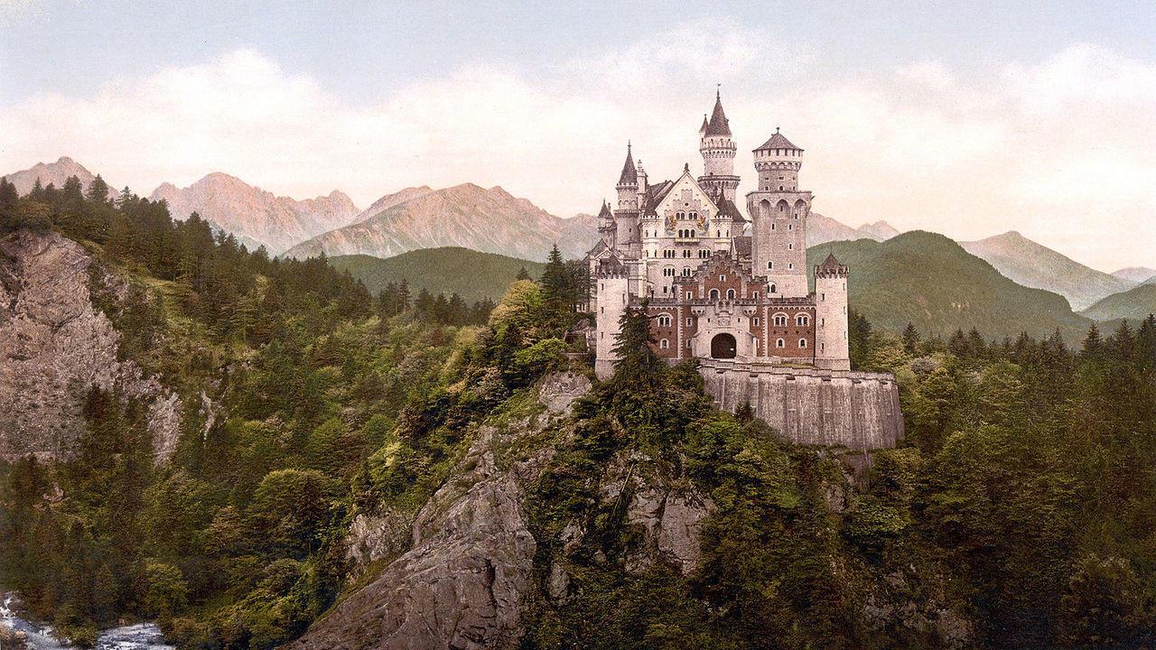 Dünyanın En Güzel Kaleleri | Neuschwanstein Kalesi