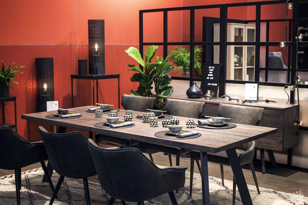 Evinizi Yeniden Tasarlayın | Smart divider connects the dining room with the kitchen visually even while dileneating space clearly 1