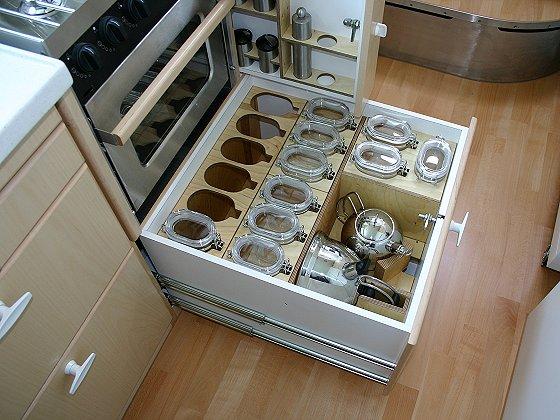 Karavan Tırlar | Tır Karavan Mutfak Dolabı