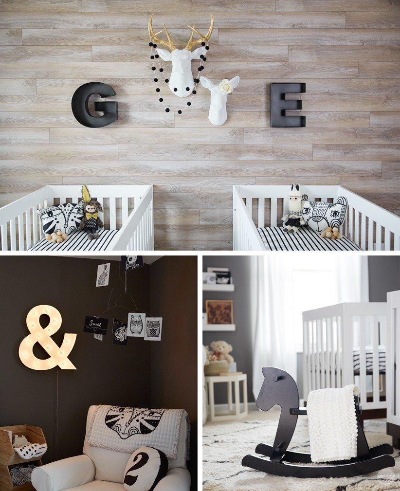 İkiz Bebek Odası | Twin nursery that is a masterpiece of neutral colors 1 1