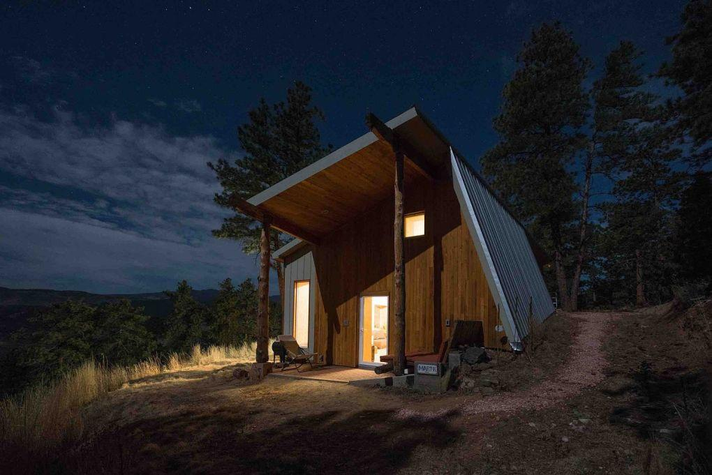 Colorado Evleri | Unique design of green home in Rocky Mountains with minimal Japanese design 1