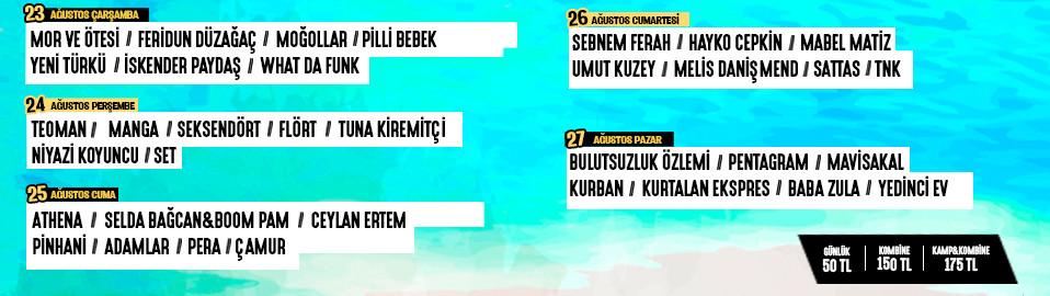 Zeytinli Rock Festivali | Zeytinli 2017 Çıkacak Gruplar