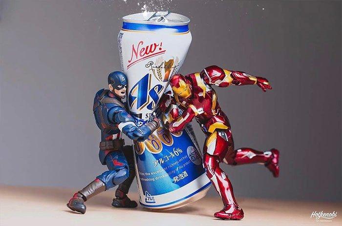 Marvel Aksiyon Figürleri Koleksiyonu | action toys scenes marvel hotkenobi 4 58ab2d45dca87 700 1