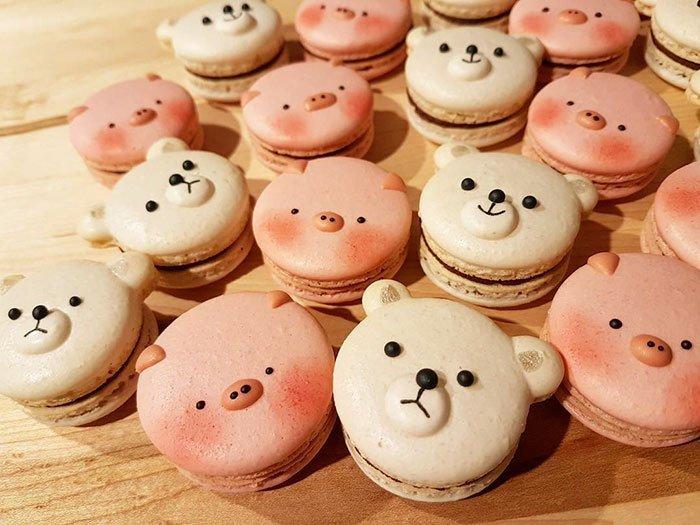 Kurabiye Şekilleri | cute panda macaroons melly eats world 1 1