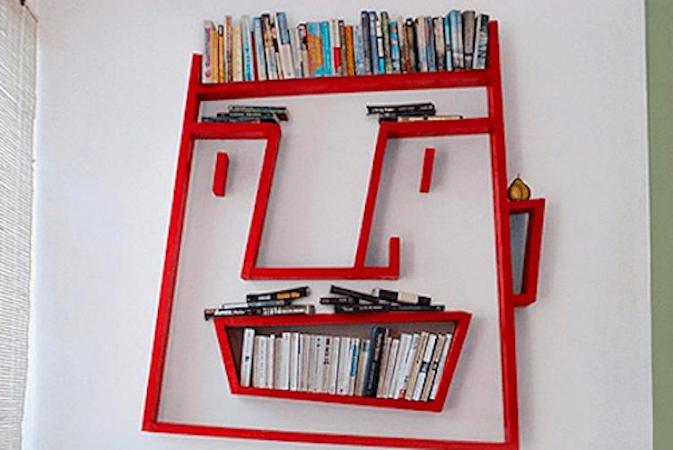 İlginç Kütüphane Tasarımları | siradisi kitaplik tasarimi2
