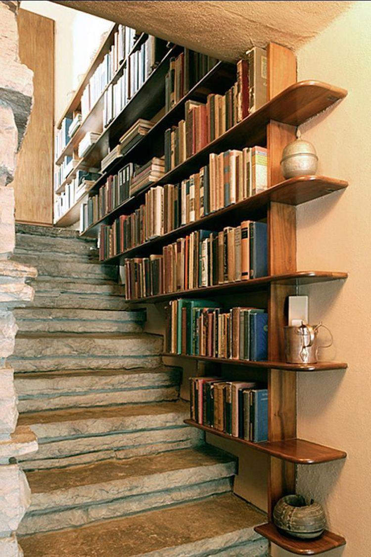 İlginç Kütüphane Tasarımları | siradisi kitaplik tasarimi27