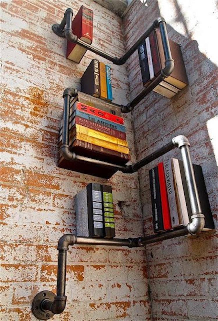 İlginç Kütüphane Tasarımları | styl industrialny