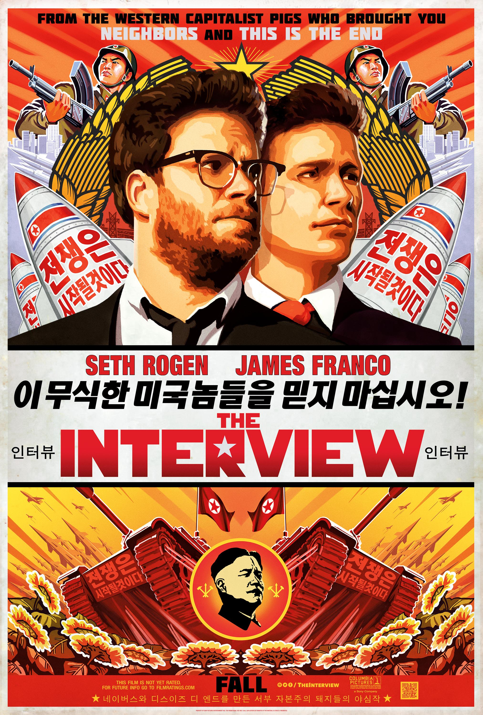 Tavsiye Komedi Filmleri | the interview poster1