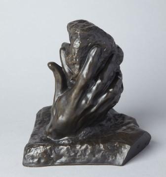 Zorba ve Dil | Rodin Tanrının Eli Resmi