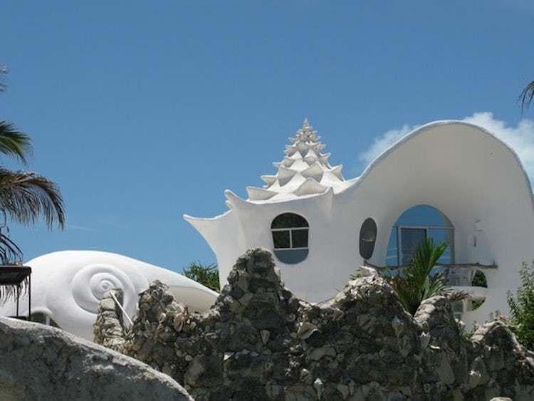 Dünyanın En Güzel Evleri | Isla Mujeres Deniz Kabuğu 2