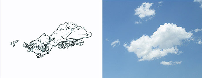 Bulut Çizimi Projesi | shaping clouds creative illustrations tincho 13