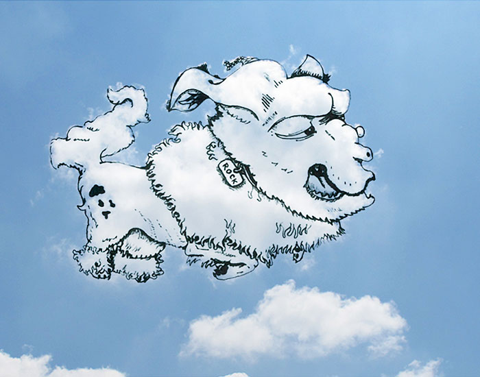 Bulut Çizimi Projesi | shaping clouds creative illustrations tincho 14