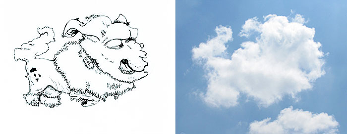 Bulut Çizimi Projesi | shaping clouds creative illustrations tincho 15