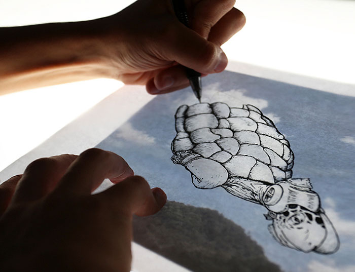Bulut Çizimi Projesi | shaping clouds creative illustrations tincho 19