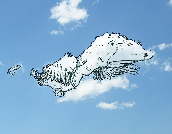 Bulut Çizimi Projesi | shaping clouds creative illustrations tincho 21