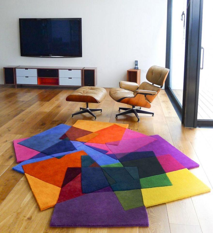 Tasarım Dekorasyon Fikirleri | Geometrik Desenli Halılar