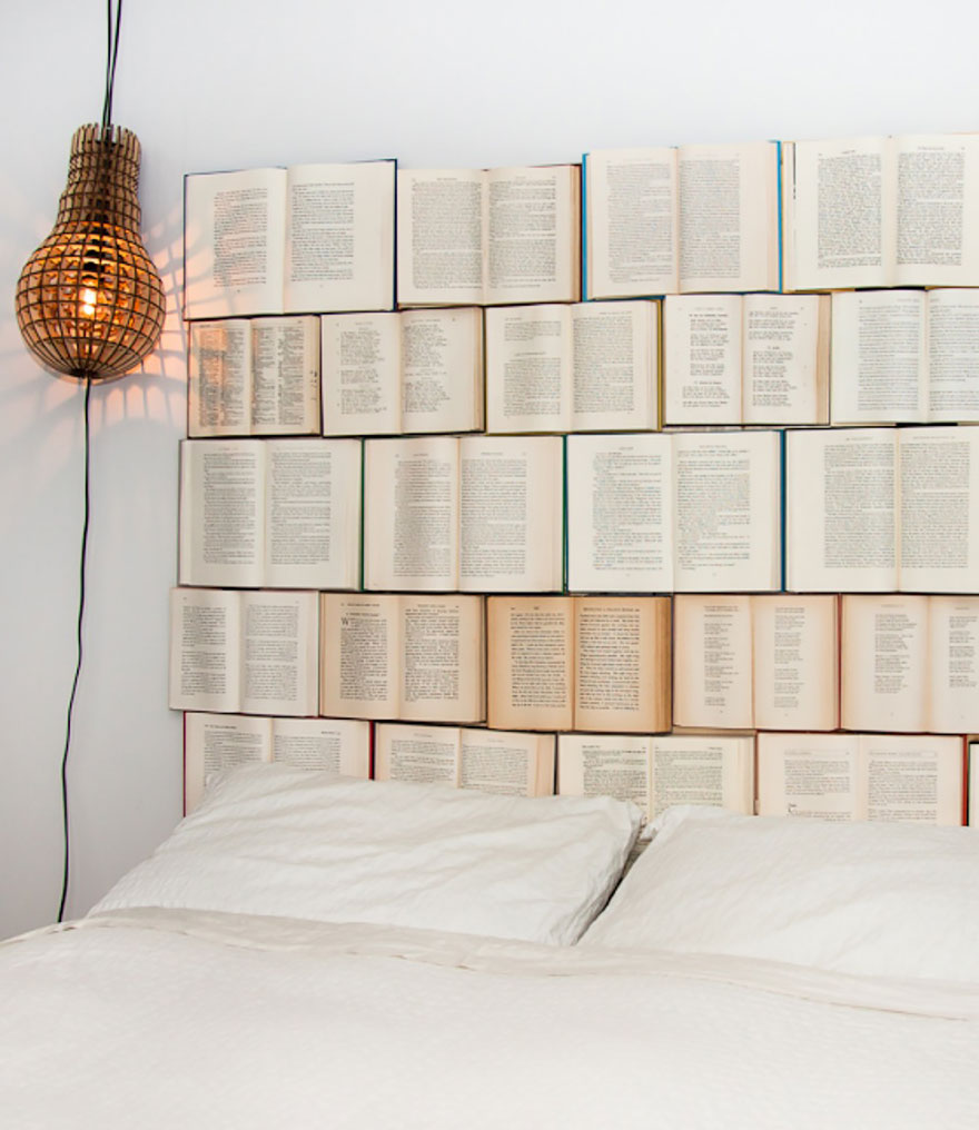 Tasarım Dekorasyon Fikirleri | Kitap Dolu Duvar
