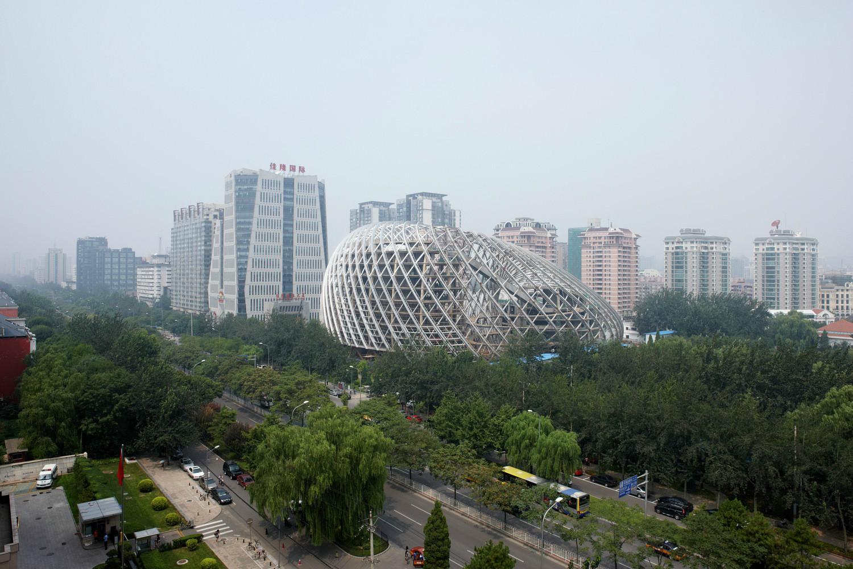 Devasa Yapılar: Pekin TV Binası | Dışarıdan İnşaatı