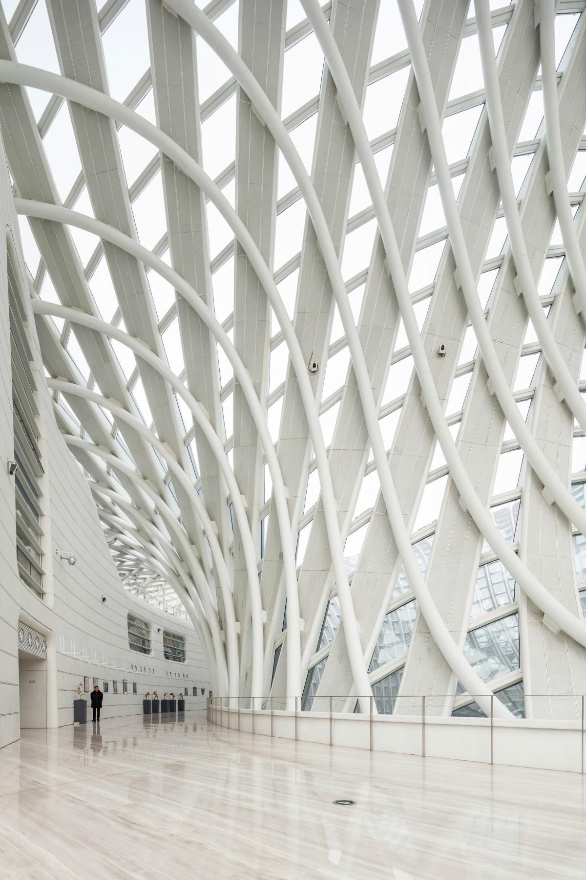 Devasa Yapılar: Pekin TV Binası | bitmiş beyaz hali