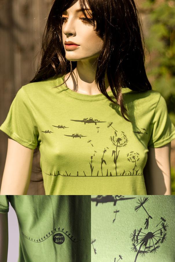 Yaratıcı Tişört Tasarımları | Savaşma Seviş Tişörtü
