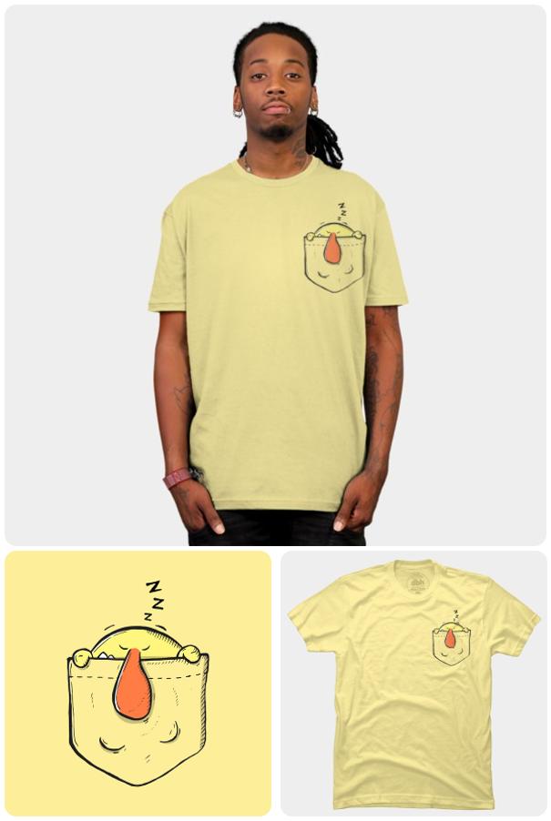 Yaratıcı Tişört Tasarımları | Sevimli Bir Tişört Daha