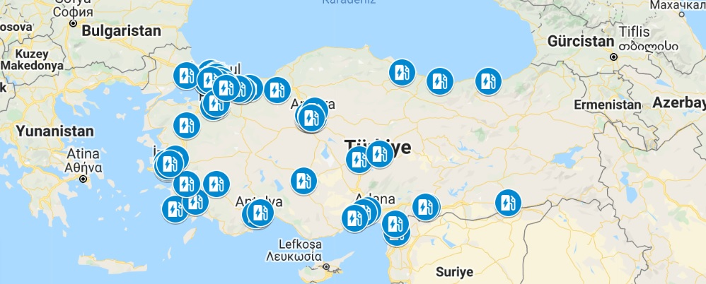 Elektrikli Otomobil Pazarındaki Son Gelişmeler | Türkiye Elektrikli Araç Şarj İstasyonlarının Konumu