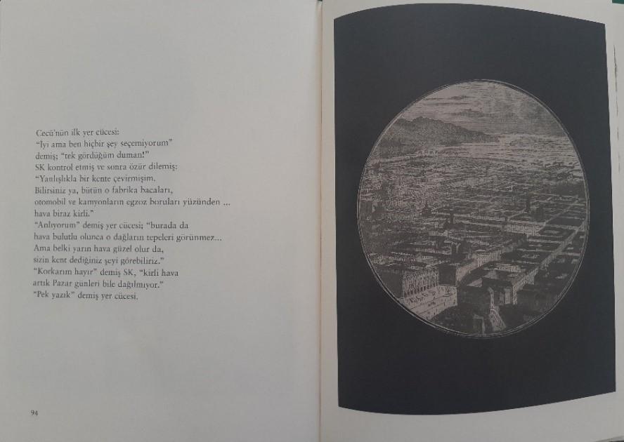 Umberto Eco - Cecü'nün Yer Cüceleri | siyah beyaz dünya resmi