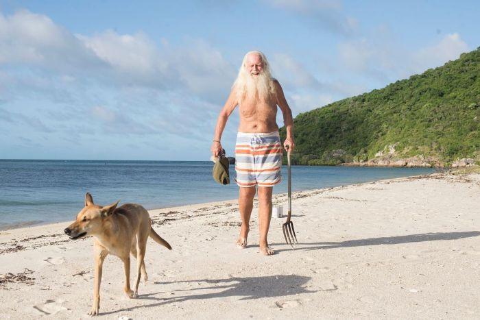 Issız Ada Sakini Avustralyalı Milyoner | David Glasheenin Köpeği