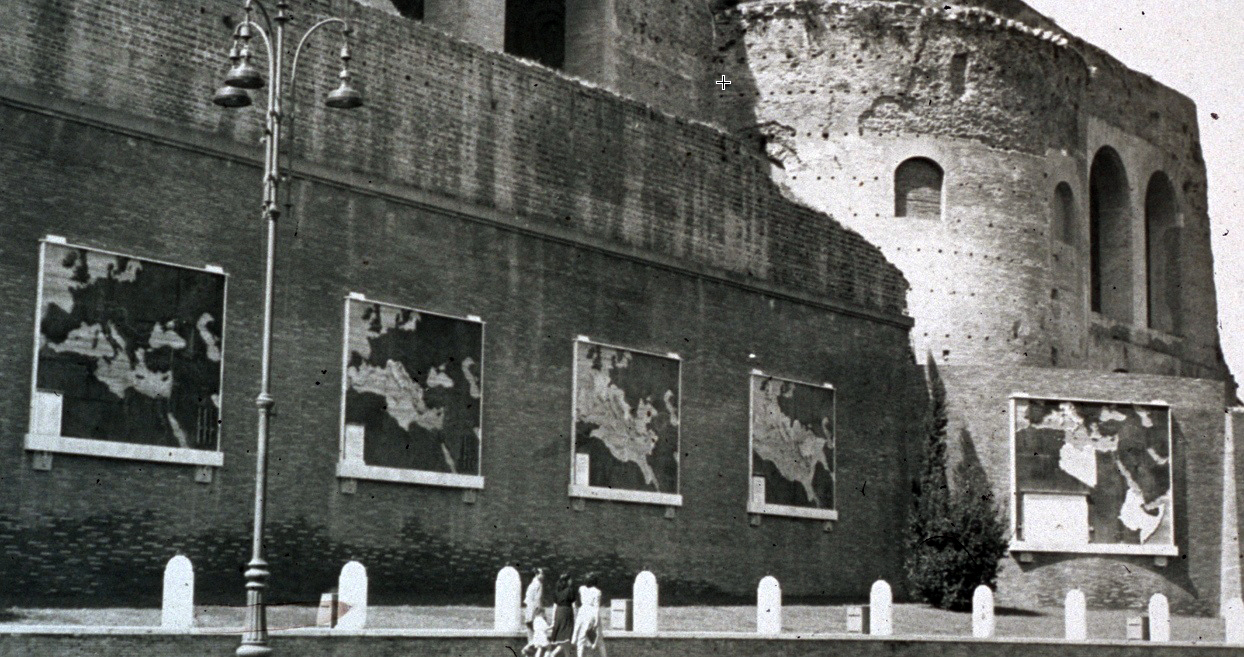 Mussolini'nin İzinde Roma Mimarisi | Mussolininin beş haritası