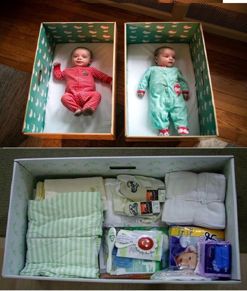 Fin Bebek Kutusu | Finlandiyadaki Kutu