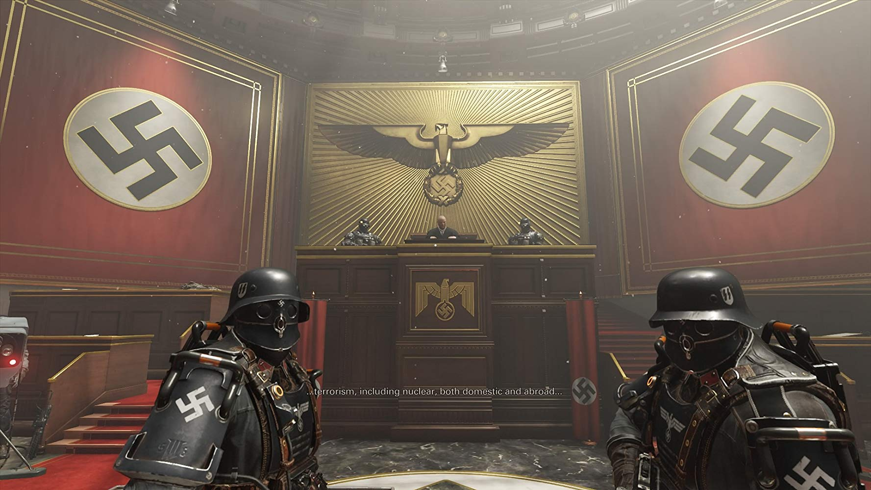 Wolfenstein II The New Colossus | Blazkowicz Yargılanıyor