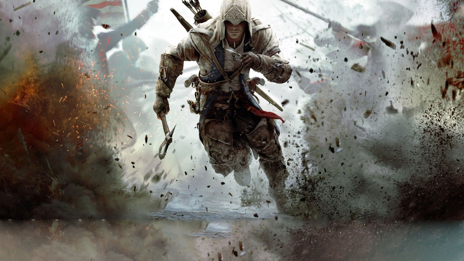 Assassins Creed 3 | Assassins Creed 3 Kapak Çalışması