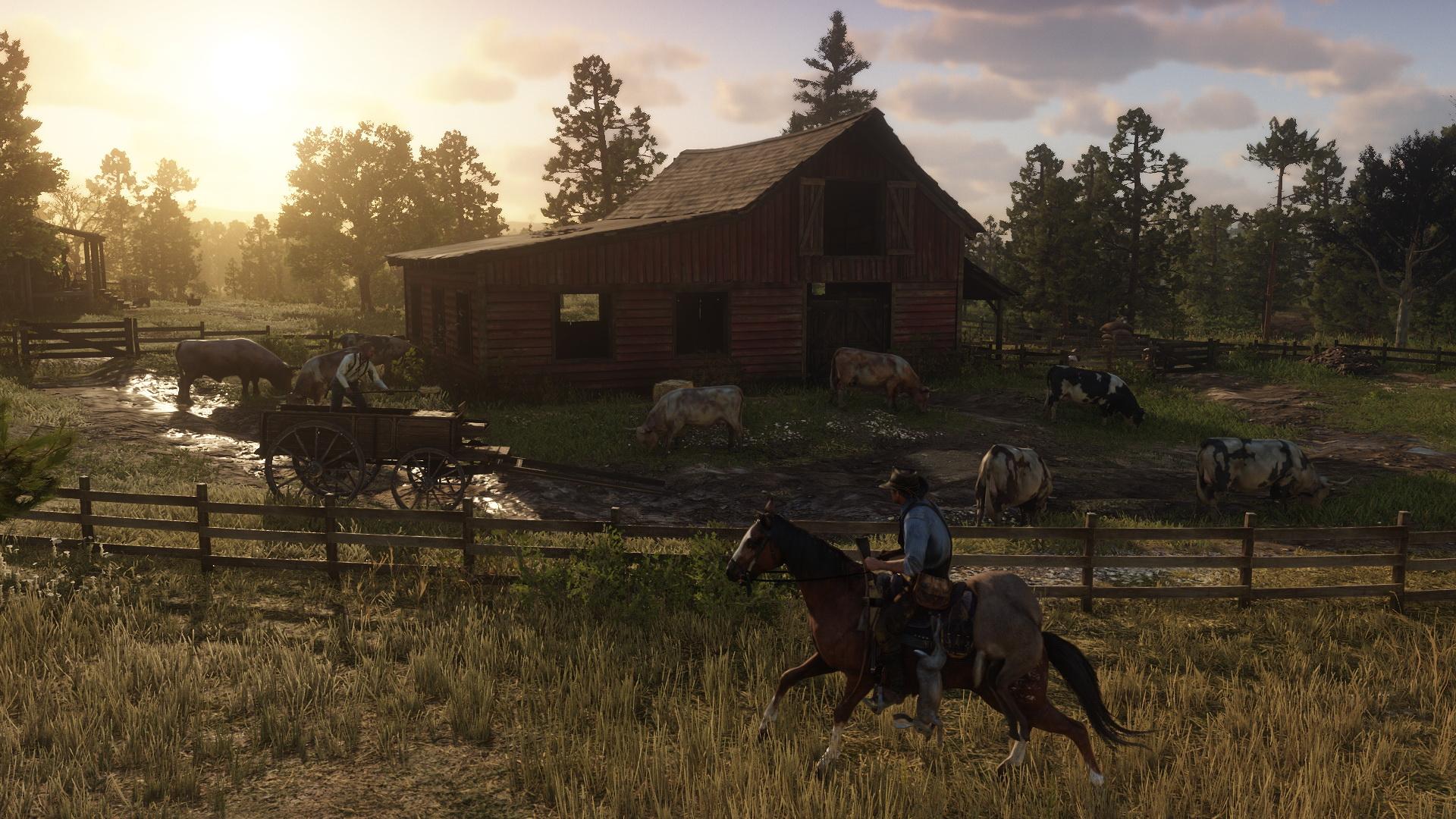 Red Dead Redemption 2 İncelemesi | Red Dead Redemption 2 At Sırtında