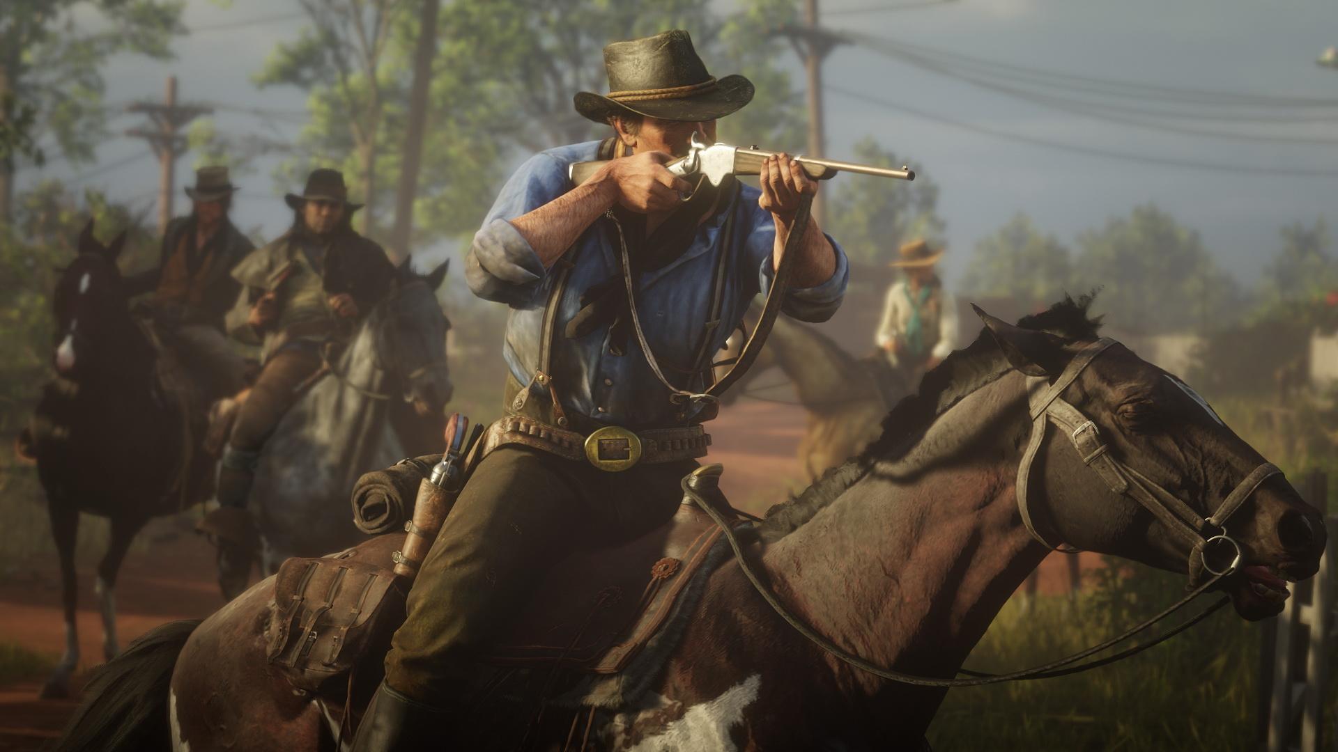 Red Dead Redemption 2 İncelemesi | Red Dead Redemption 2 Atla Giderken Silah Kullanmak