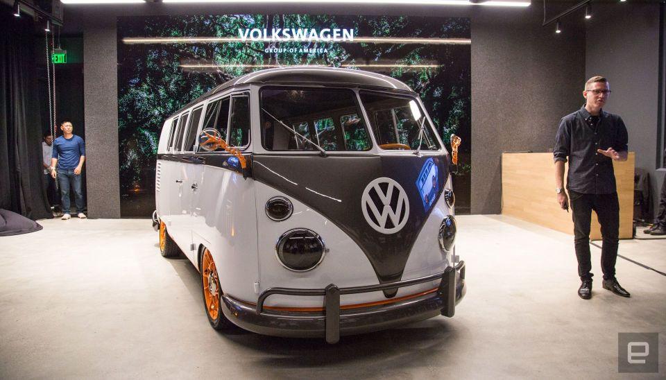 Volkswagen T1 Artık Elektrikli | Volksvagen Type 20