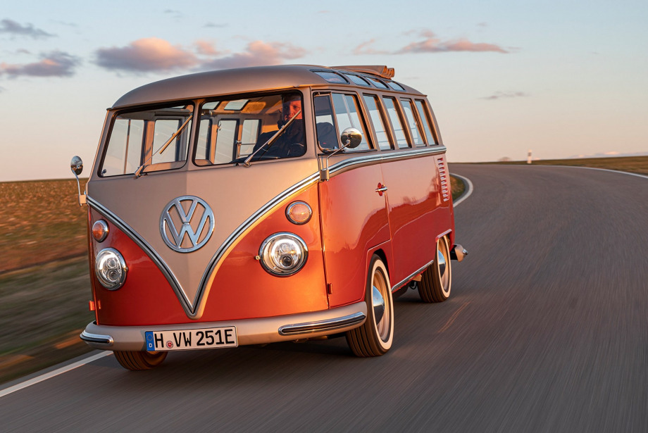 Volkswagen T1 Artık Elektrikli | Volksvagen e Bulli