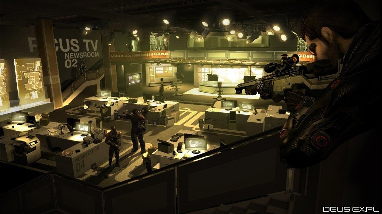 Deus Ex Human Revolution | Deus Ex Human Revolution Oyun İçi Görsel