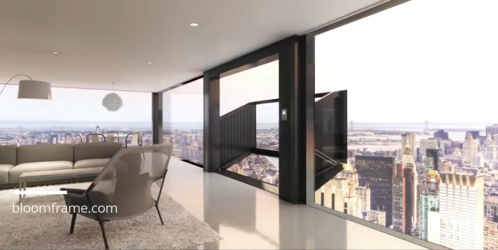 Balkona Dönüşen Pencere | Gökdelende Pencereden Balkon
