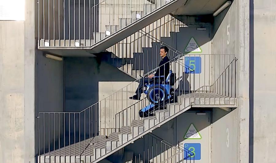Merdiven Çıkabilen Elektrikli Tekerlekli Sandalye | Yazı İçi Merdiven Çıkan Tekerlekli Sandalye