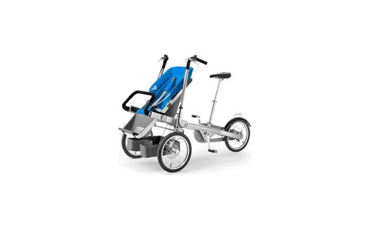 Ebax Bisikletli Bebek Arabası